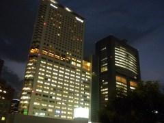 夏の夕暮れ(2009年9月1日撮影)