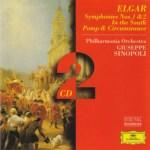 シノーポリ指揮/エルガー:交響曲第1番&第2番