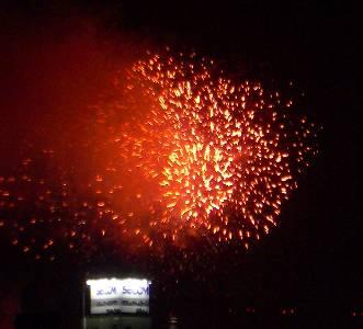 神宮の花火大会