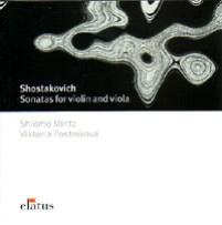 ショスタコーヴィチ:ヴァイオリン&ヴィオラ・ソナタ