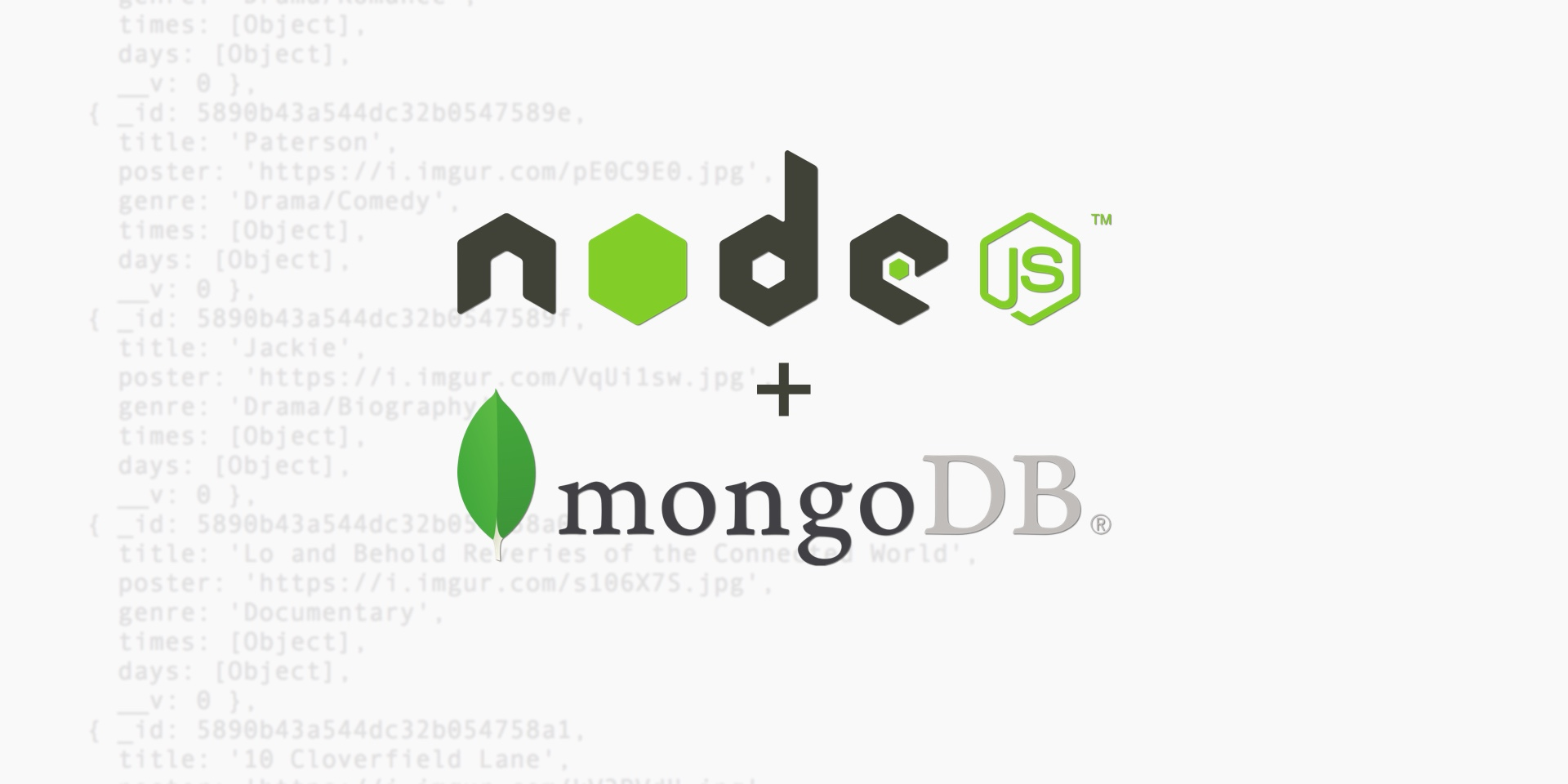 Api Backend With Node Js Express And Mongodb For React Native Apps