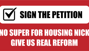 Petition to senator nick xenophon scrap your super funds for open letter to nick xenophon regarding real housing reform spiritdancerdesigns Image collections