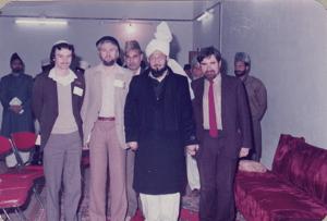 Tahir Selby, Nasir Ward, His Holiness Mirza Tahir Ahmad, Muzaffar Clarke