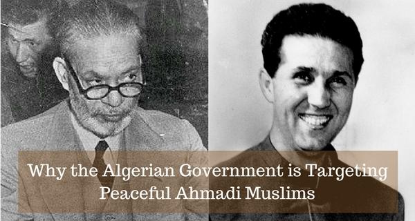 Algerian persecution of Ahmadis
