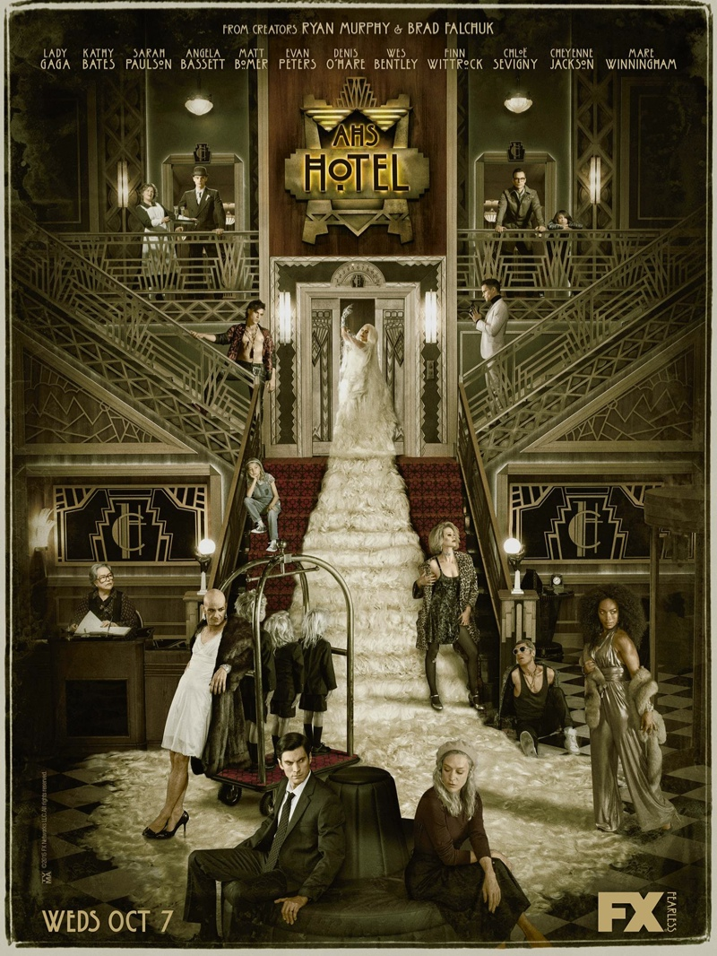 Intro De American Horror Story Hotel Rat Videoteca