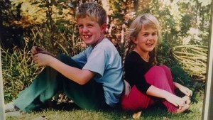Zach and Laura in 1995