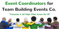 Event Coordinators – Vacancies in All Major Cities Across the US