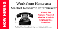 Work from Home as a Market Research Interviewer - MaritzCX Now Hiring