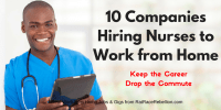 10 Companies Hiring Nurses to Work from Home