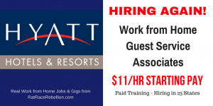 Hyatt is HIRING AGAIN - $11/Hr to Start - Hiring in 23 States