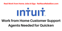 Work from Home Customer Support Agents Needed for Quicken