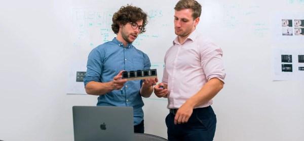 engineers in meeting