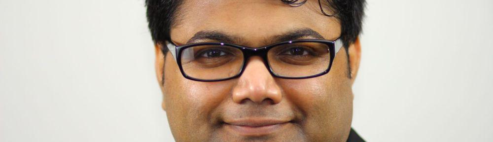 Krishna Koculan, Fraktionsvorsitztender DIE LINKE im Rat der Stadt Sankt Augustin