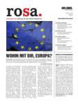 Titelseite der rosa 1-2019
