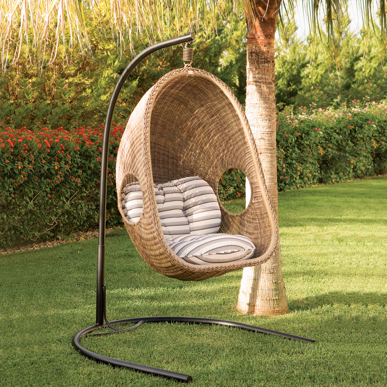 Hanging Rattan Chair Sublime Coziness With Hanging Wicker Chairs Rattan And