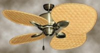 Attractive Rattan Ceiling Fans