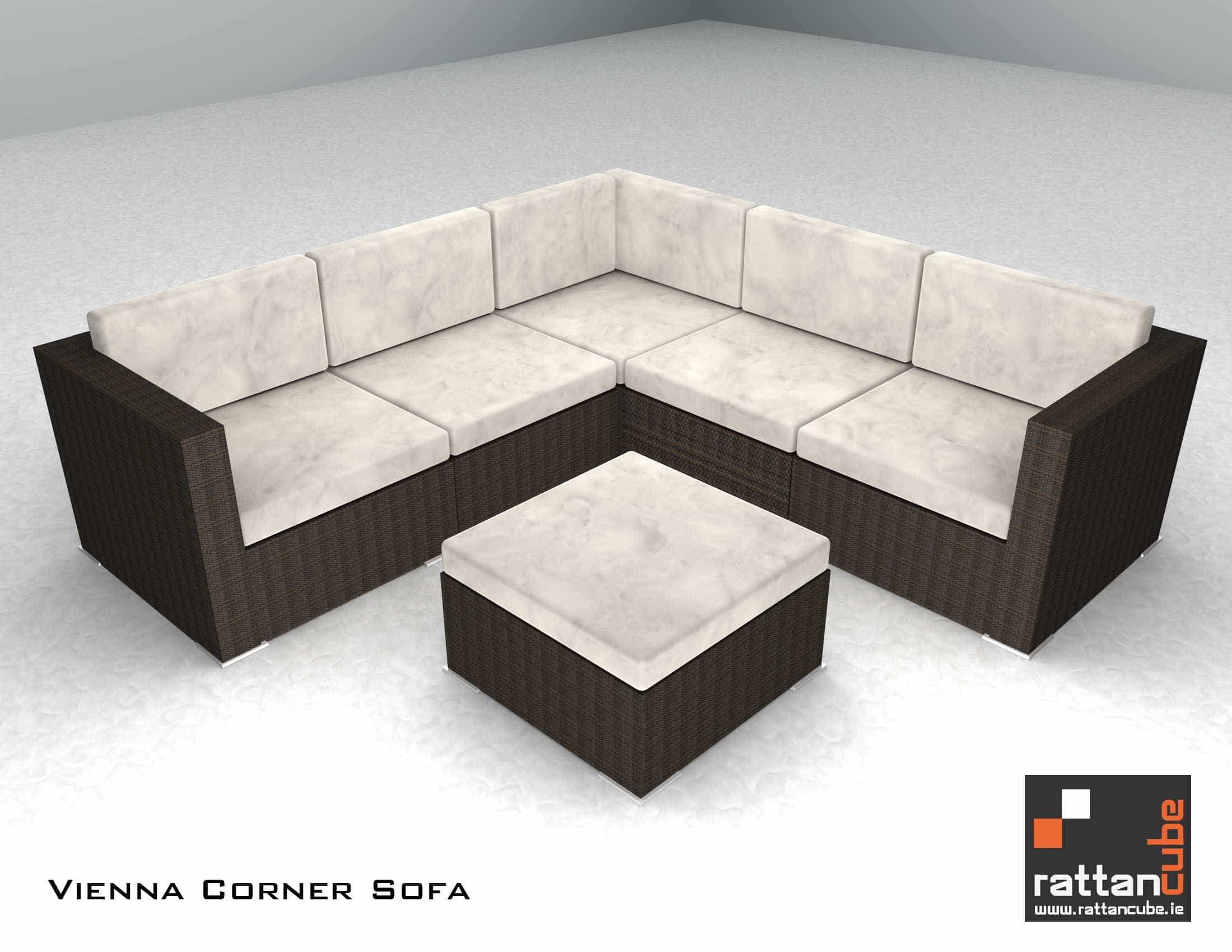 Rattan Corner Sofa Ireland Vienna Corner Sofa Garden Furniture Ireland Outdoor