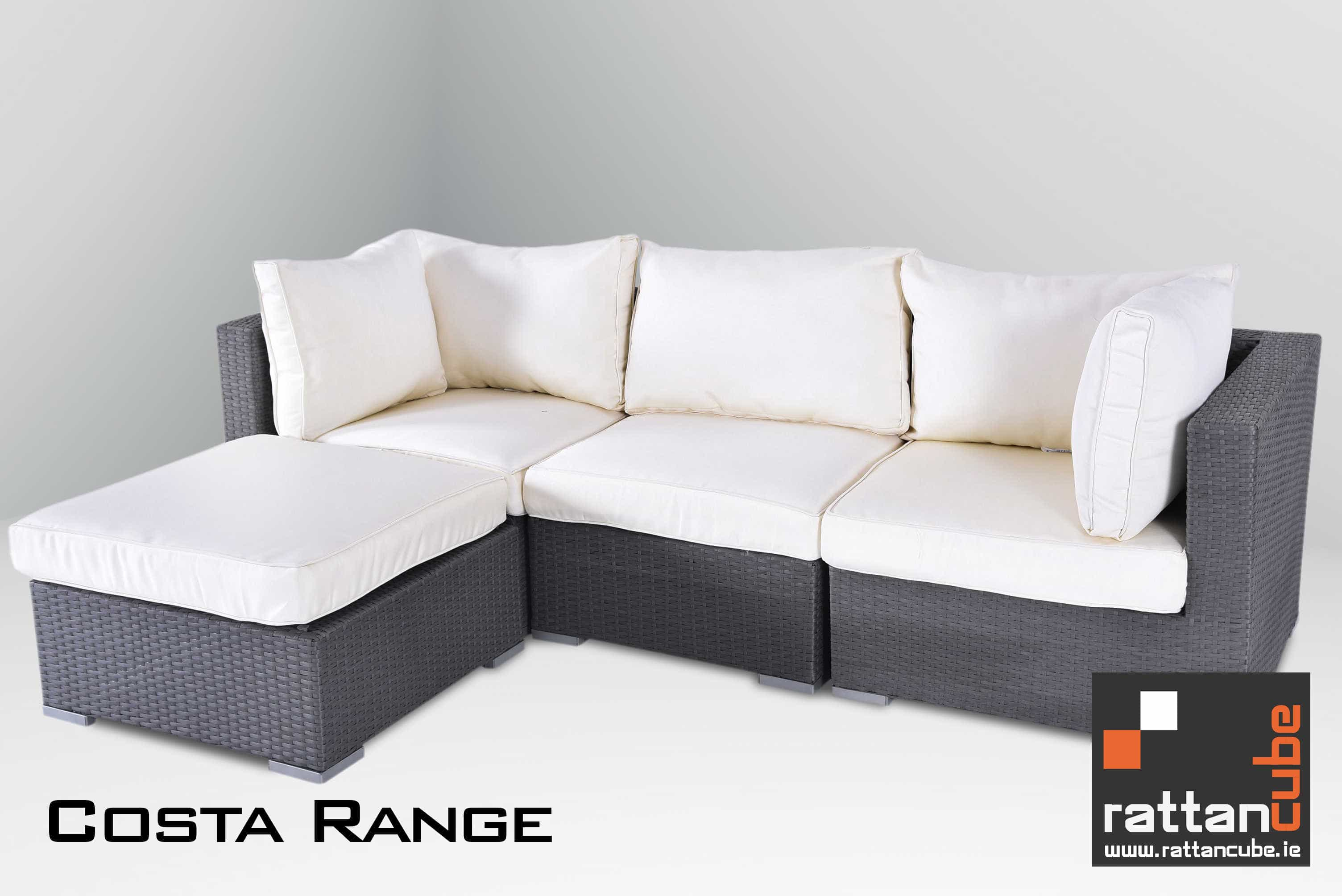 Rattan Corner Sofa Ireland Costa Sofa Set Garden Furniture Ireland Outdoor