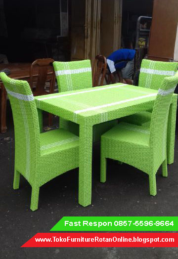 Kursi  Jual Furniture Rotan Sintetis  Toko Kursi Makan