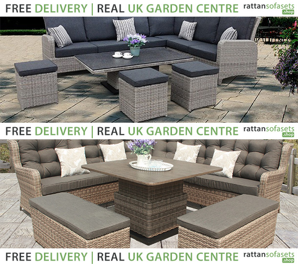wicker sofa sets uk 3 seater cover black corner rattan buy online with delivery today