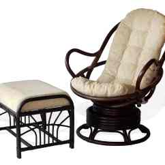 Rocking Chair And Ottoman Set Unusual Lounge Chairs Buy Java 2-pc. Living Room With Stool In Usa, Best Price, Free Shipping - Rattan Usa