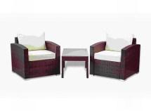 Patio 3-pc. Lounge Set Coffee Table & Chairs