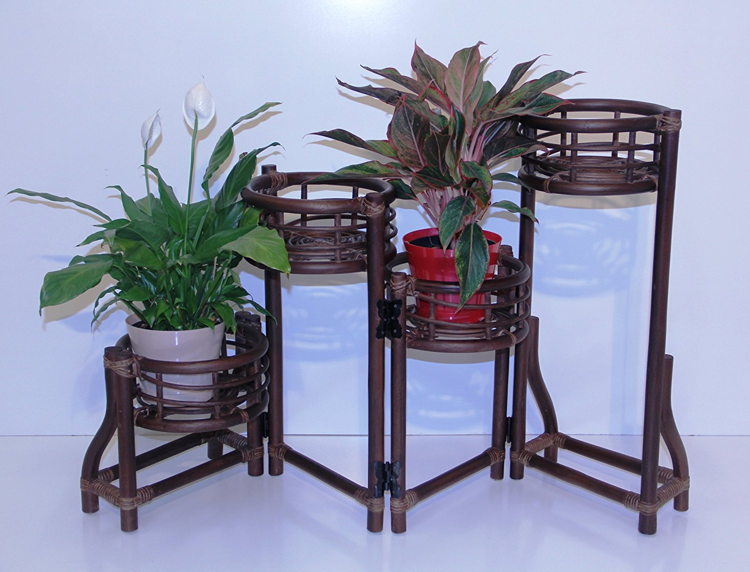 comfortable wicker chairs bin bag chair buy plant stand (4 tier) in usa, best price, free shipping - rattan usa
