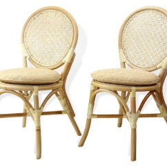 Wicker Chairs Indoor Dining Blue High Back Buy Denver 2 Pc Side In Usa Best Price