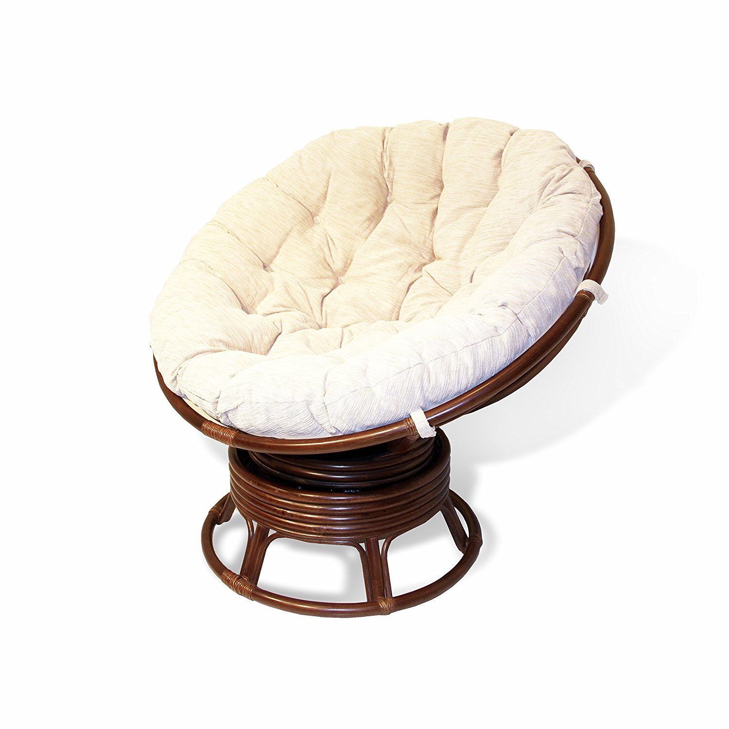 replacement papasan chair cushion clear acrylic desk buy swivel in usa best price free shipping