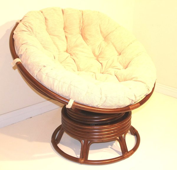 Rattan Swivel Cushion for Papasan Chair