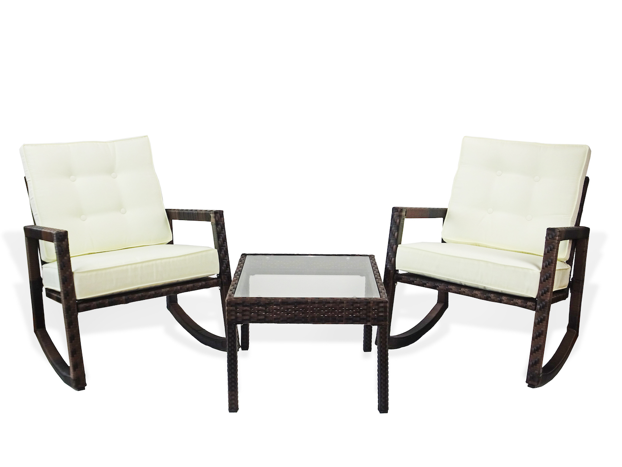 coffee table with chairs double papasan chair replacement cushion buy patio 3 pc lounge set rocking and