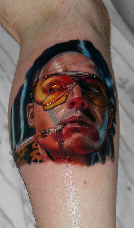 Johnny Depp In Fear And Loathing Comes Alive In This