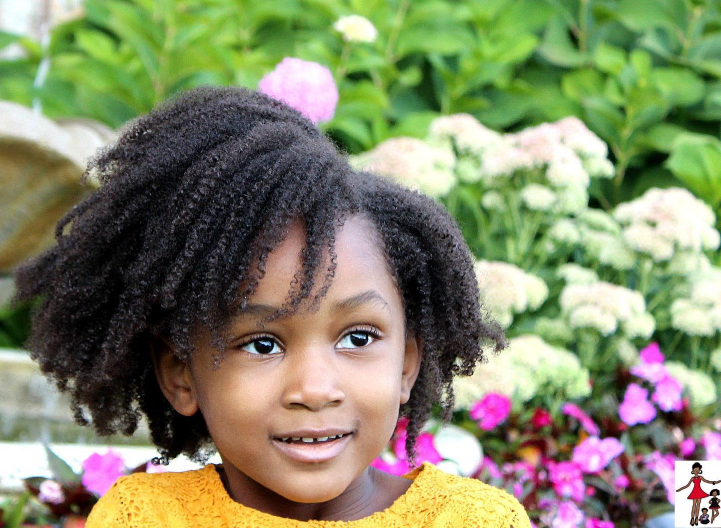 Kids Natural Hairstyle Wash And Go On Coily Type 4 Hair Rattles