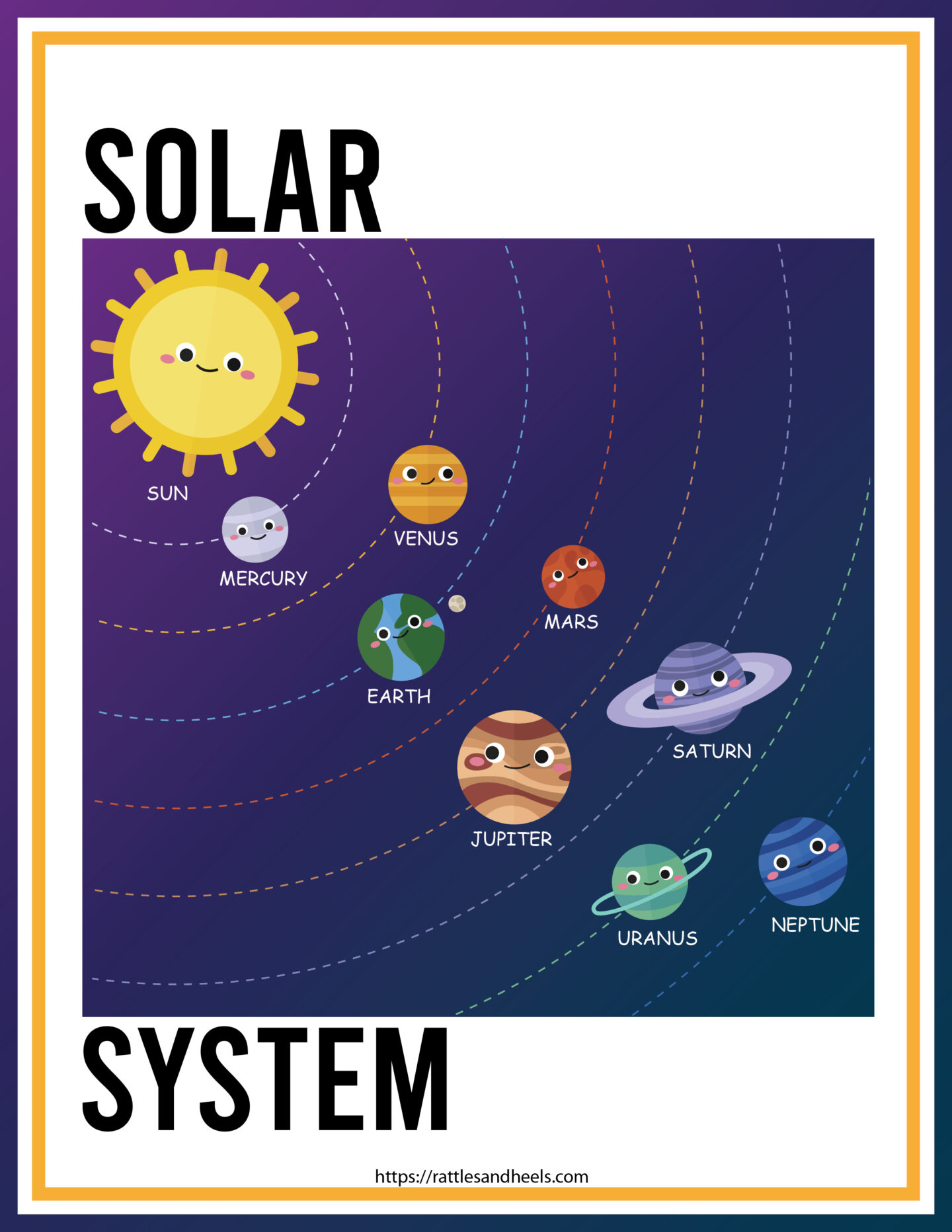 Free Solar System Worksheets For Kids