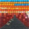Glastonbury Tor mosaic