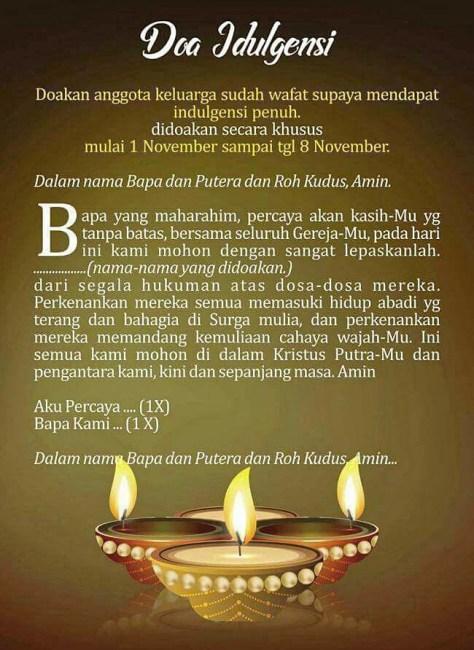 Doa Novena 9 Hari : novena, Novena, Untuk, Arwah, Komisium, Damai