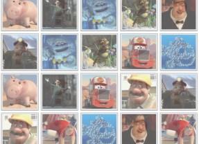 Play the Pixar Character Memory Game!