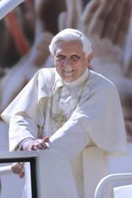 Pope Benedict XVI general audience in Saint Peter's Square