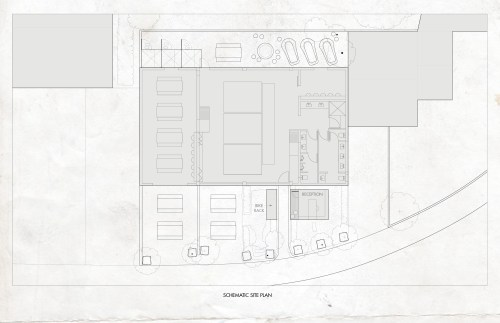 small resolution of site plan diagram