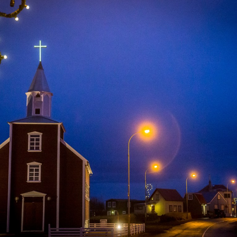 church Christmas lights-10
