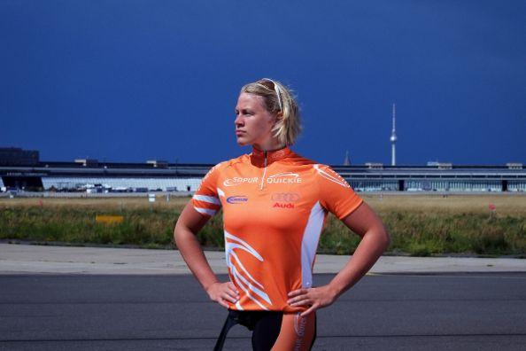 Sportlerin Christiane Reppe: Stolz mit Behinderung, statt gegen Vorurteile zu kämpfen.