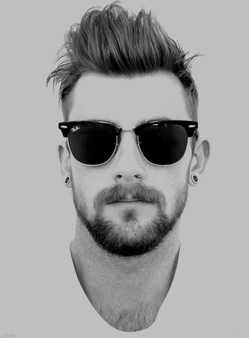 Raula's Guide to Sunglasses and Beard