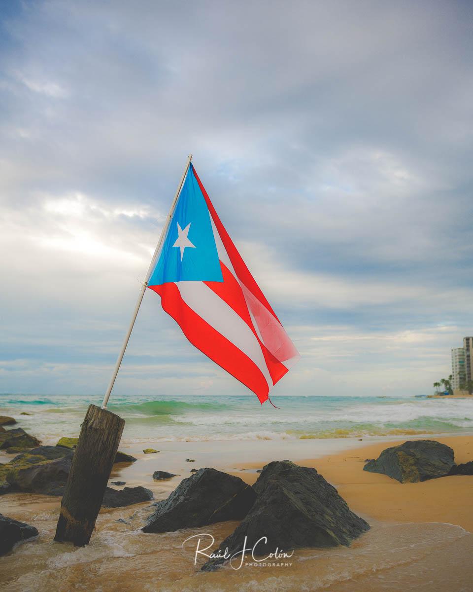 original puerto rican flag