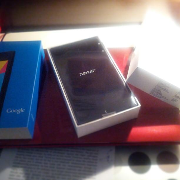 Tras una larga espera, llegó una tablet a casa :)