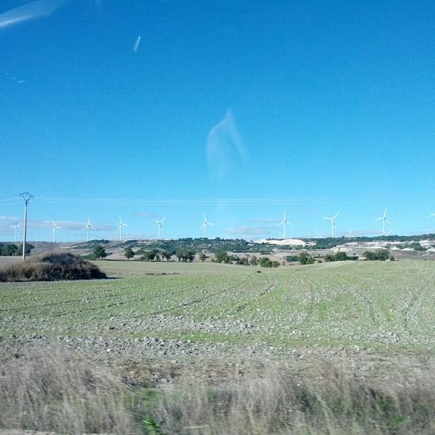 """Campo eólico en tierra palentina con más de 100 """"gigantes"""""""