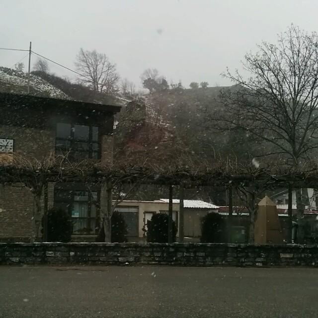 Empezando a nevar en Valdepiélagos #leonesp