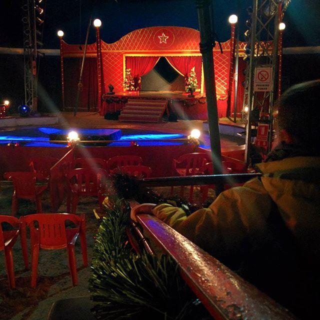 ¡El espectáculo va a comenzar! #circo