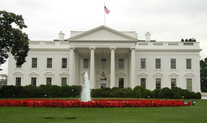 Front of the White House