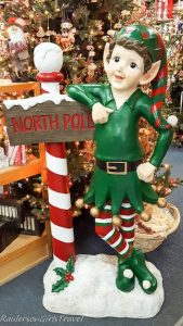 Elf at the North Pole