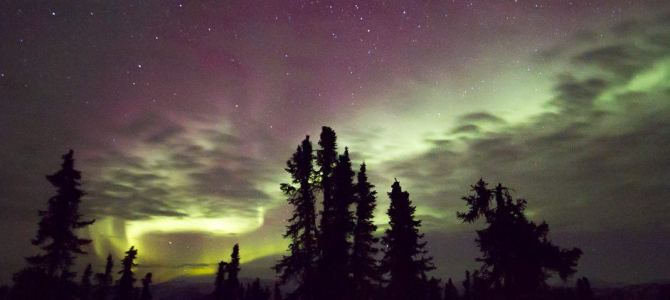 Shooting the Northern Lights in Alaska